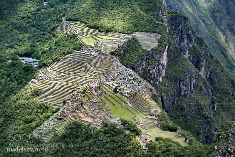 Photograph Machu Picchu seen from the summit of Huayna Picchu by virgílio silva on 500px