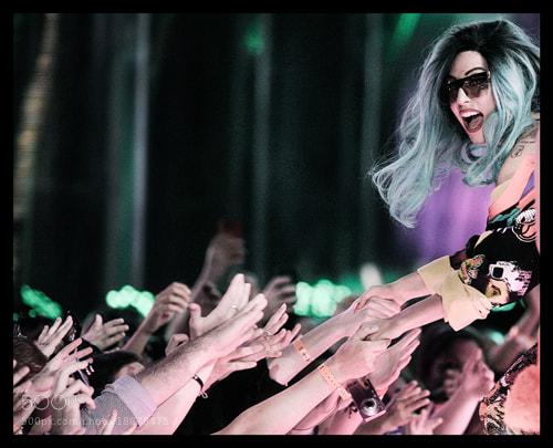 Photograph Lady Gaga by Jag Gundu on 500px