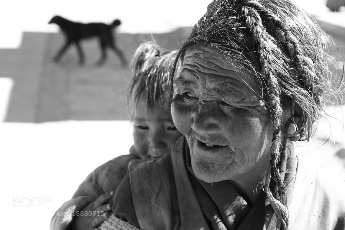 Photograph Streetlife, Old Tingri by Charles Lacy on 500px