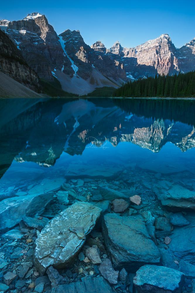 Glacial Moraine By Perri K Schelat / 500px