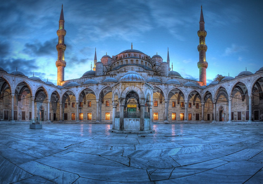 Photograph Blue Hour @ Blue Mosque by Jo Datou on 500px