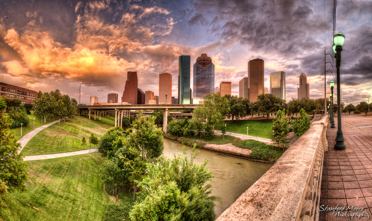 Photograph Houston Skyline by Stanford  Moore on 500px