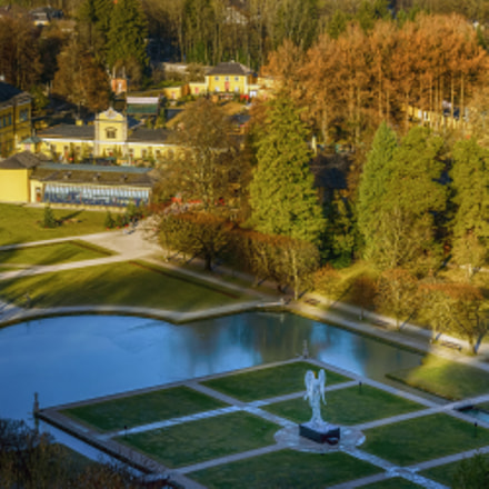 The Christmas Angel in Hellbrunn Palace …