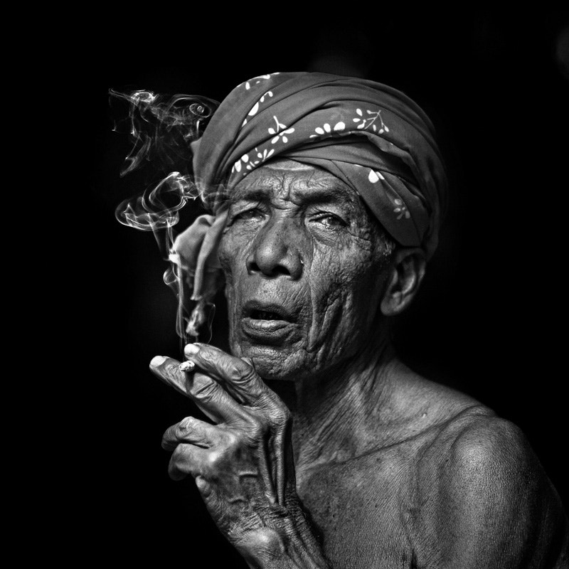 an old malay man from Kelantan