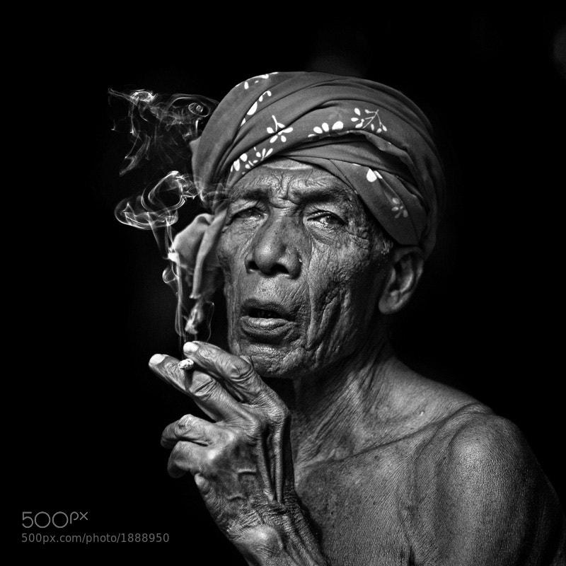 an old malay man from Kelantan