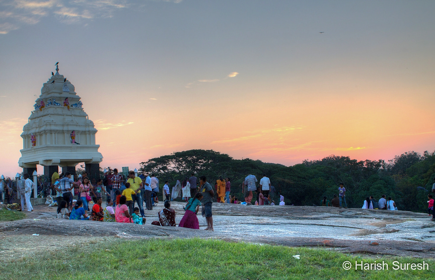 Photograph Kempegowda Tower on top of Lal Bagh by Harish Suresh on 500px