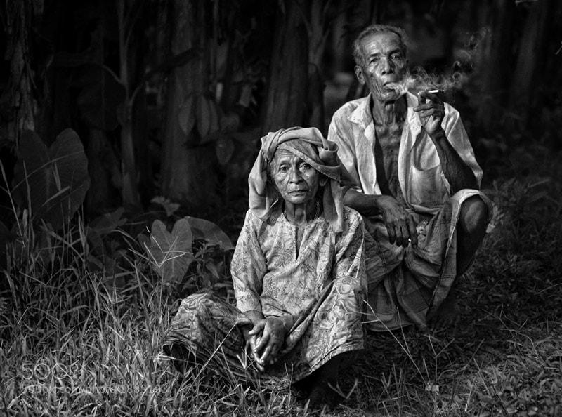 an old malay couple