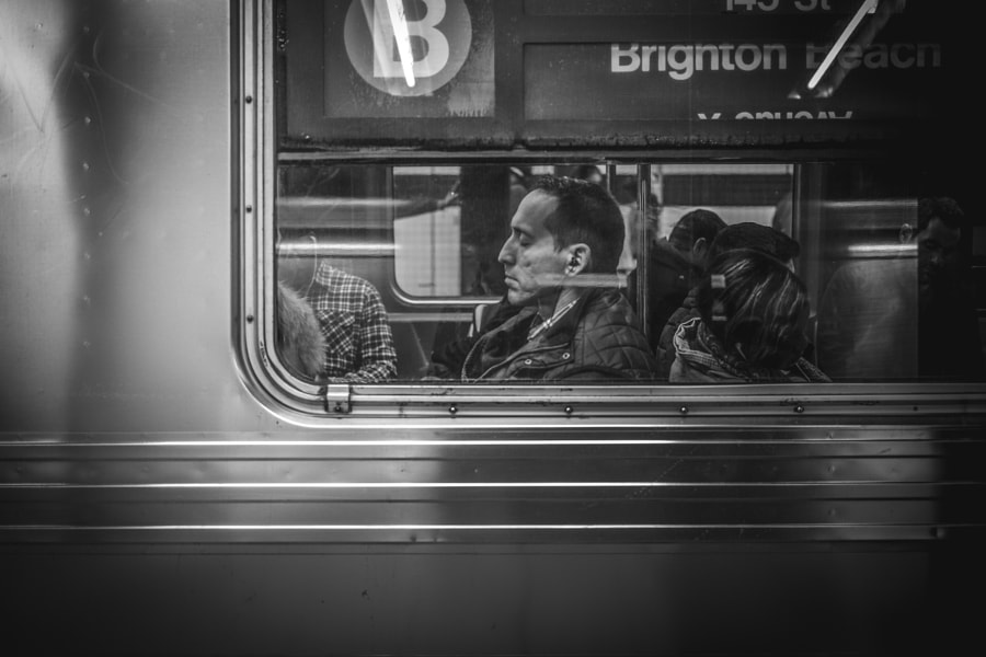 People In The B Train by TÄk > on 500px.com