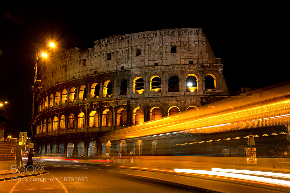 Photograph Colloseum at Night by Andrew Kielbowicz on 500px