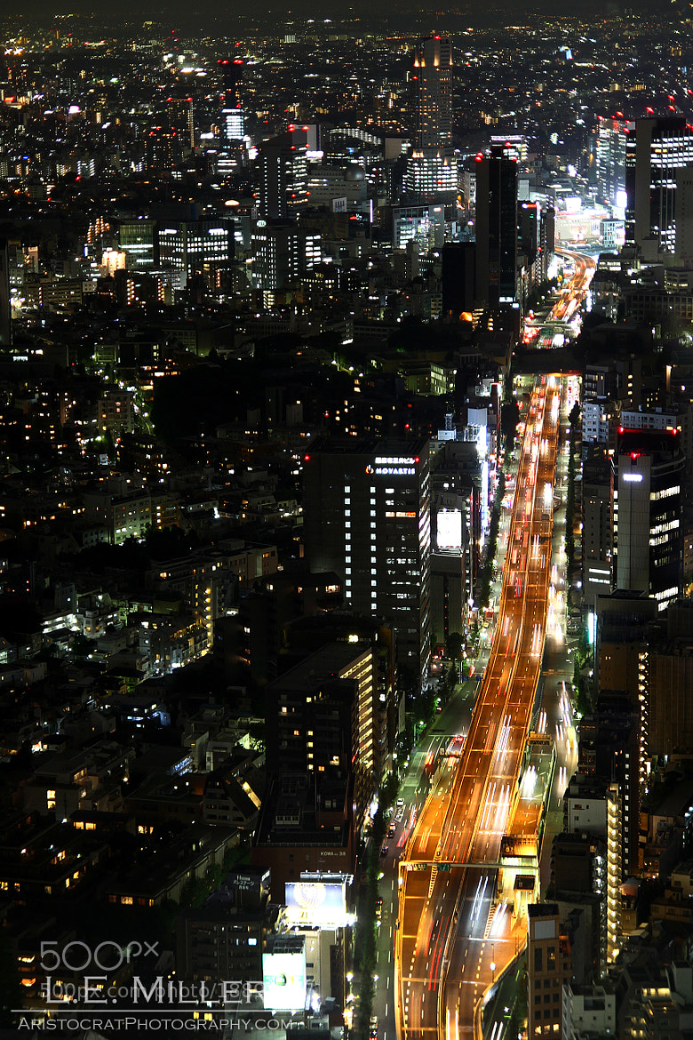 Photograph Shibuya from Roppongi  by L.E. Miller on 500px