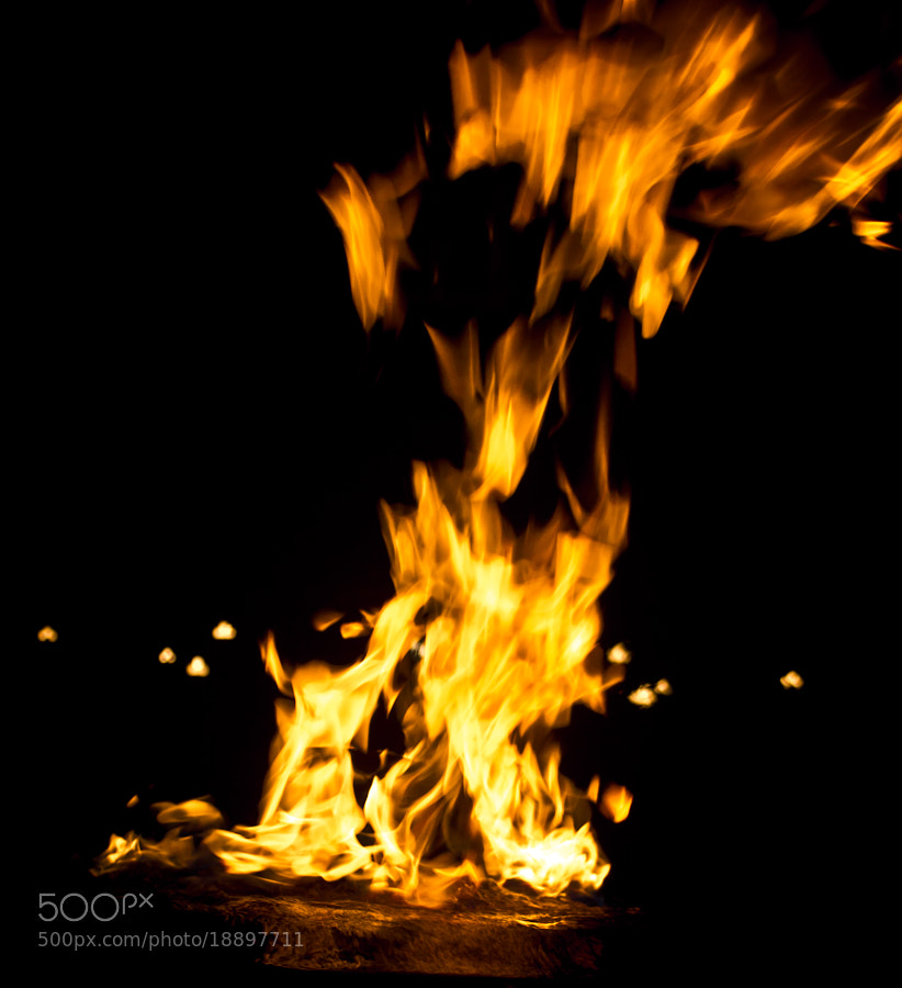 Photograph Up in Flames by Arun Agrawal on 500px