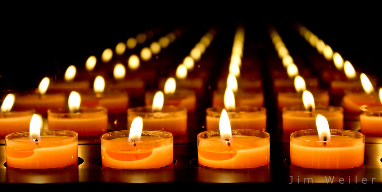 Photograph Candles by Jim Weiler on 500px