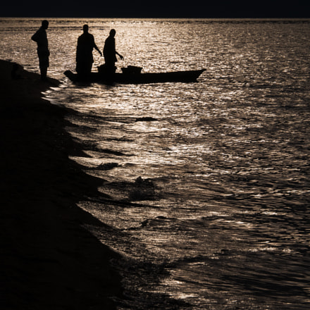 Fisherboat at Lake Malawi - Africa