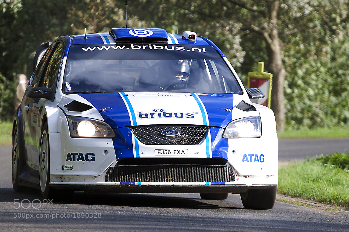 Photograph Ford Focus WRC by  Marco Loman on 500px
