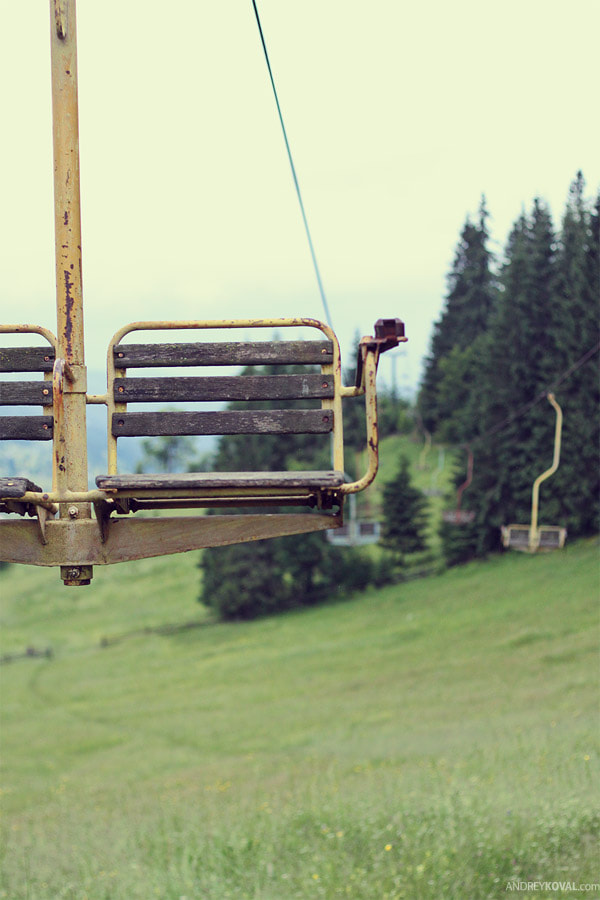 Photograph ski lift by Andrey Koval on 500px