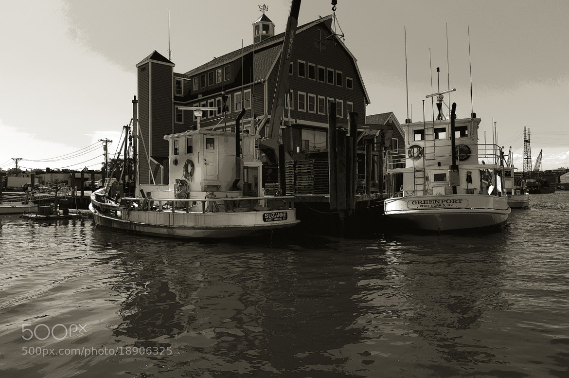 Photograph So. Norwalk oyster boats by Frederick Hartman on 500px
