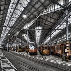 Garage tram by Filippo Bianchi (Filippo)) on 500px.com