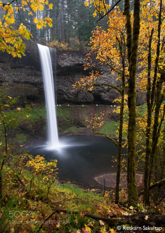 Photograph The Falls by Ketkarn Sakultap on 500px