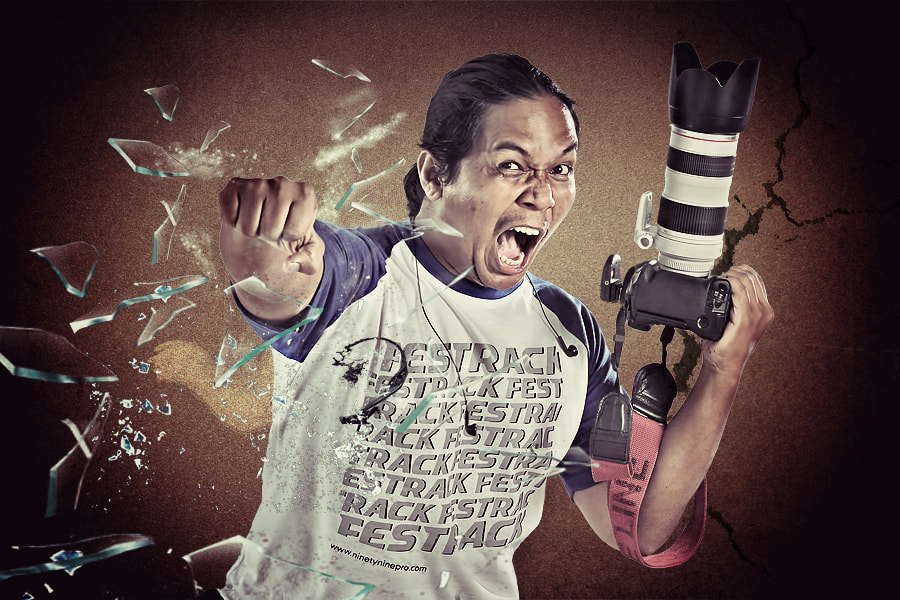 Photograph Angry Photographer by Uda Dennie on 500px