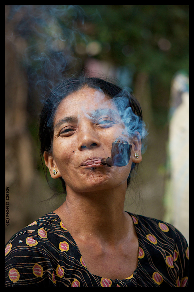 Photograph Enjoying with smoke by Mong Chen on 500px