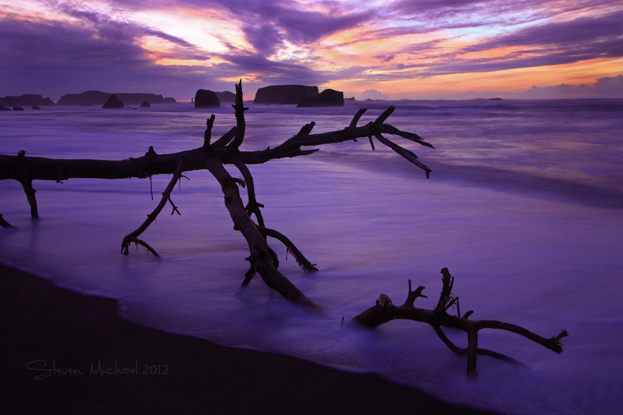 Photograph Petrified Purple by Steven  Michael on 500px