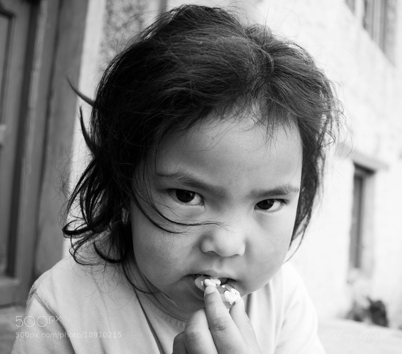 Photograph tibetan little girl by Akshay Gogoi on 500px