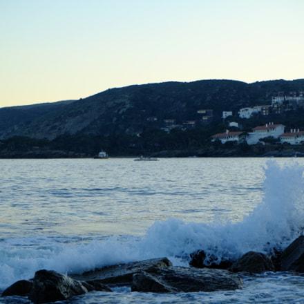 Reaching the seashore