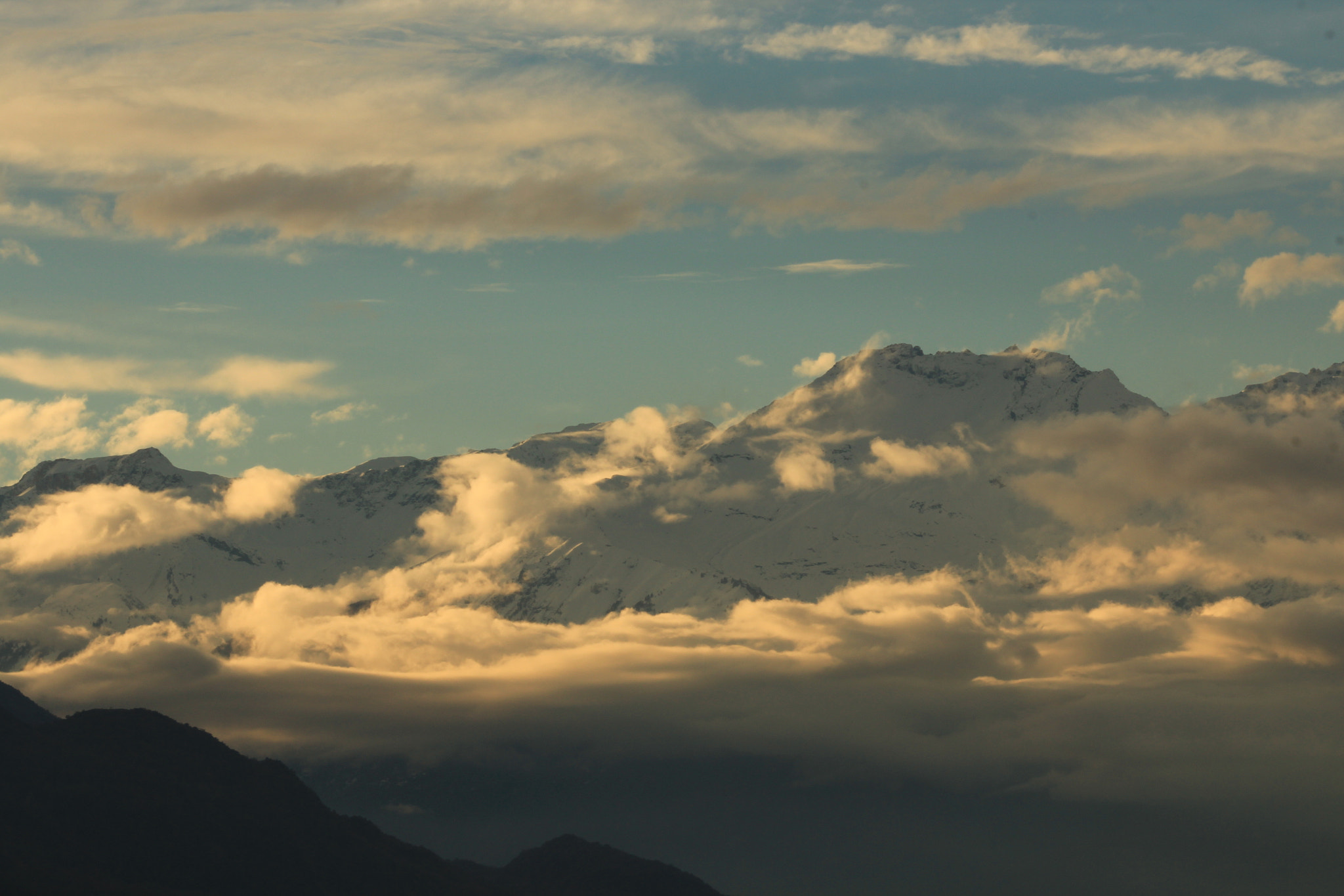 Photograph white clouds under the sun by Paola Fiore on 500px
