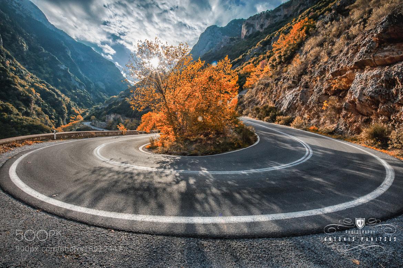 Photograph U-Turn by Antonis Panitsas on 500px