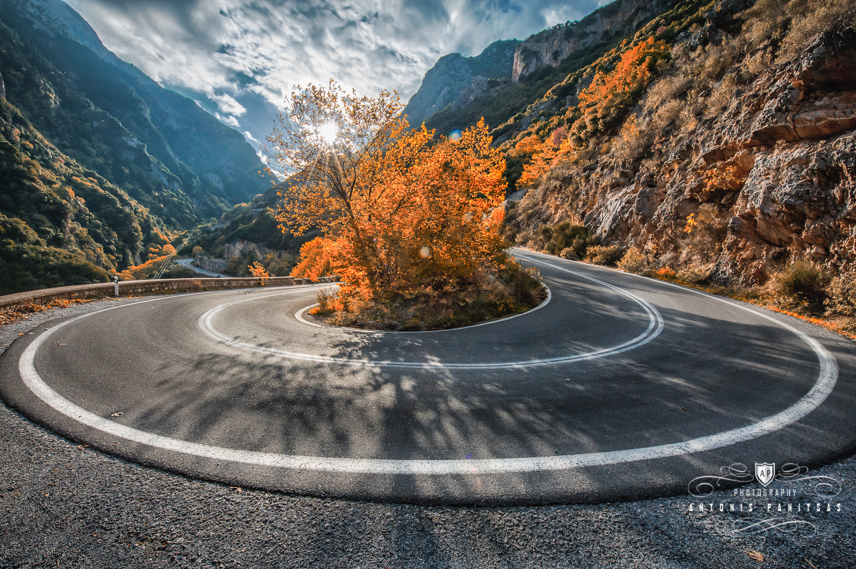 Photograph U-Turn by Antonis Panitsas on 500px