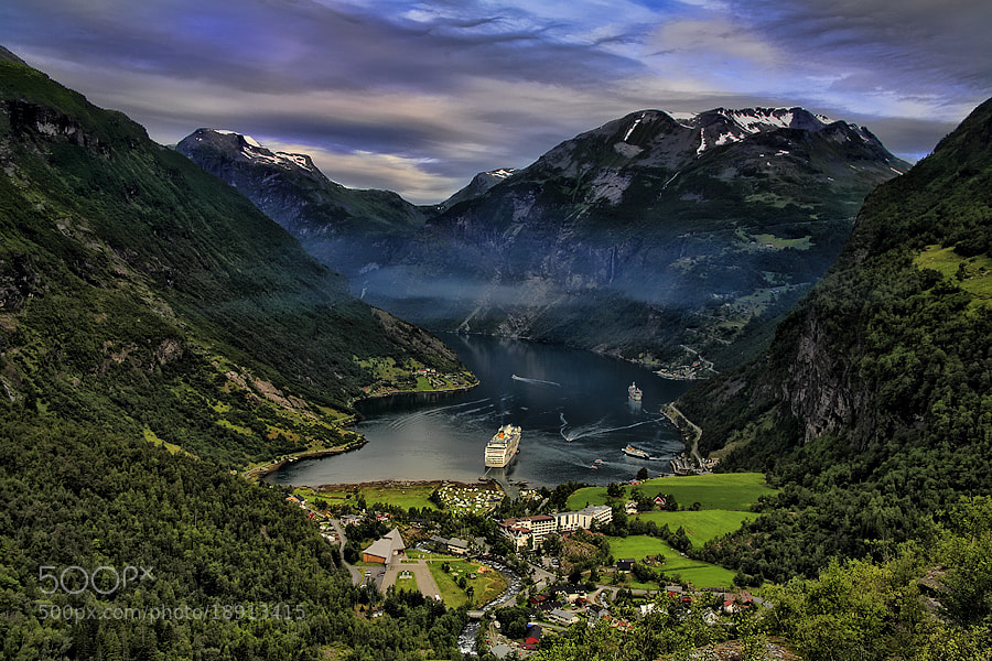 Photograph Geirangerfjord by Michele Galante on 500px
