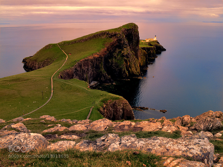 Photograph Neist Point Lighthouse by Michele Galante on 500px