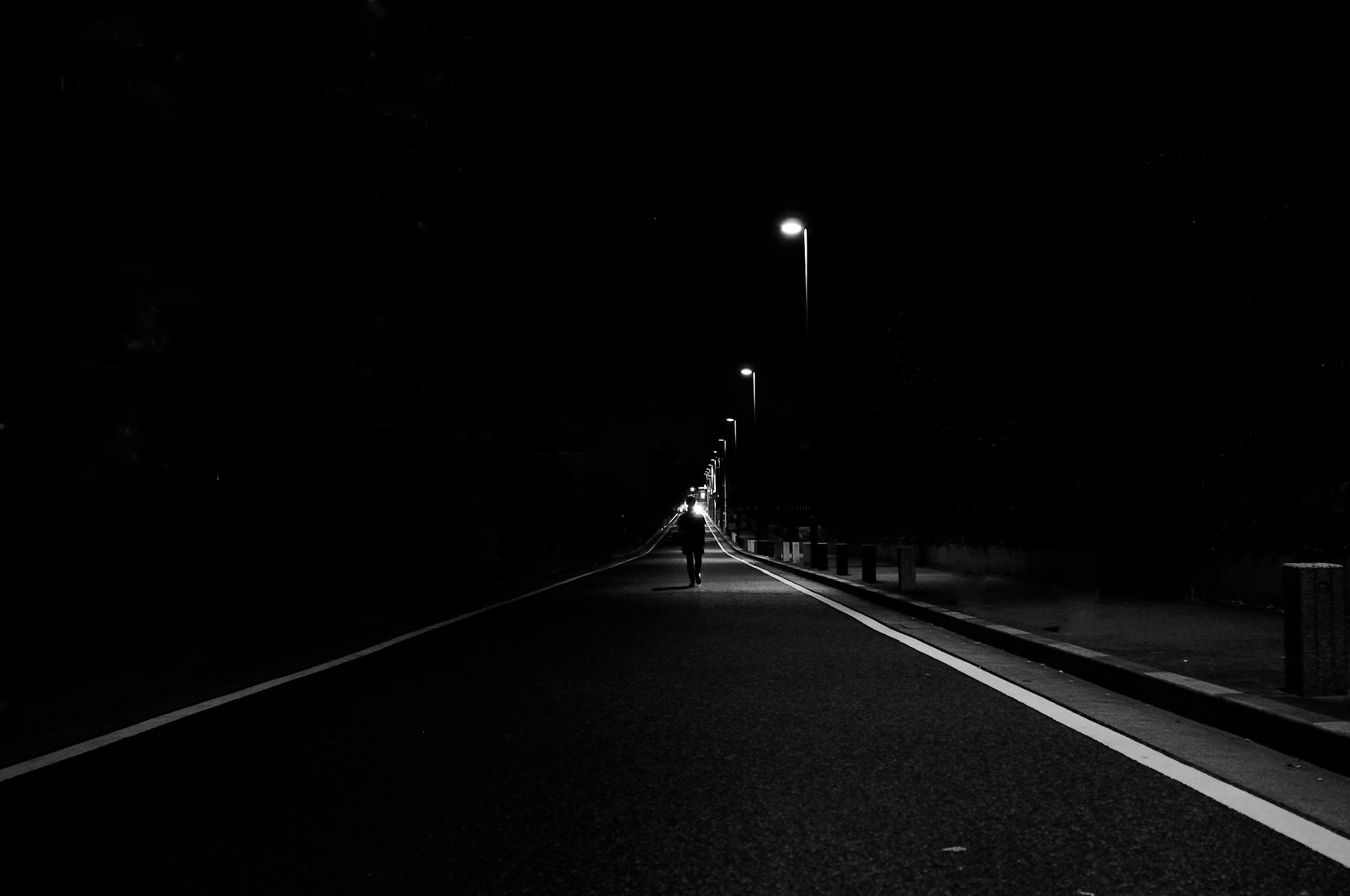 Photograph night road by nao sakaki on 500px