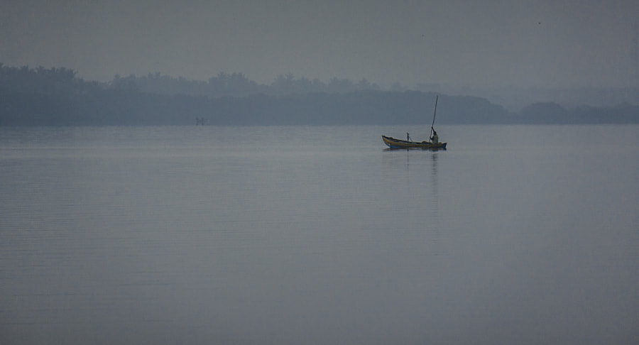 Fishing Boat in the Morning, Puttalam Lagoon by Son of the Morning Light on 500px.com