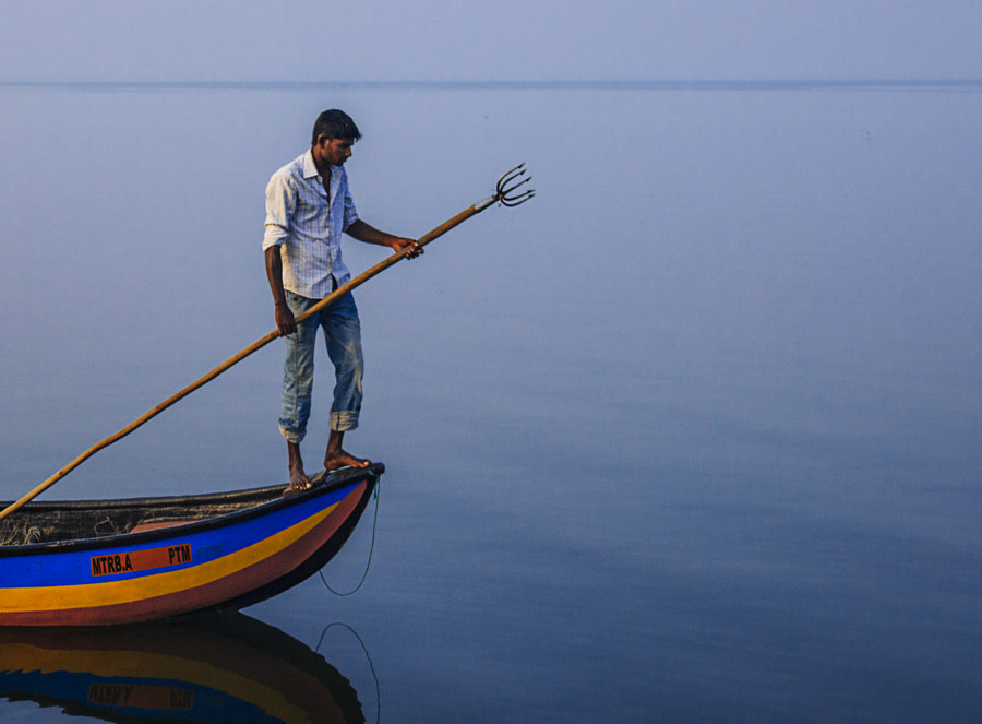 Spear Fishing in the Morning, Puttalam Lagoon #4 by Son of the Morning Light on 500px.com