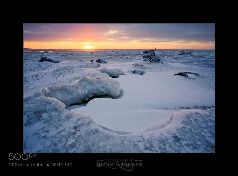 Photograph Frozen Sunset by Scott Kroeker on 500px