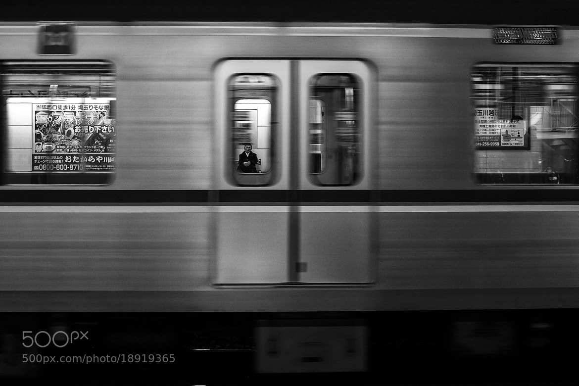 Photograph Waiting of the other side by Hiroki fujitani on 500px