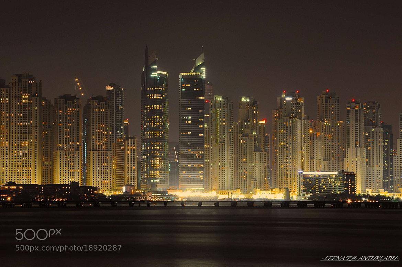 Photograph Jumeirah Beach Residence by Leena'z Anilzam on 500px