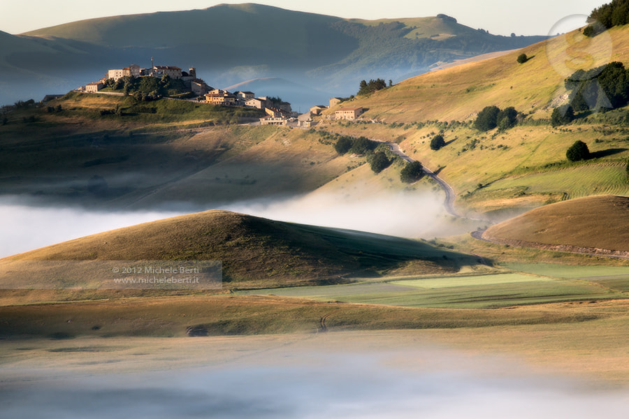 Photograph Morning fog in Castelluccio (july 2012) by michele berti on 500px
