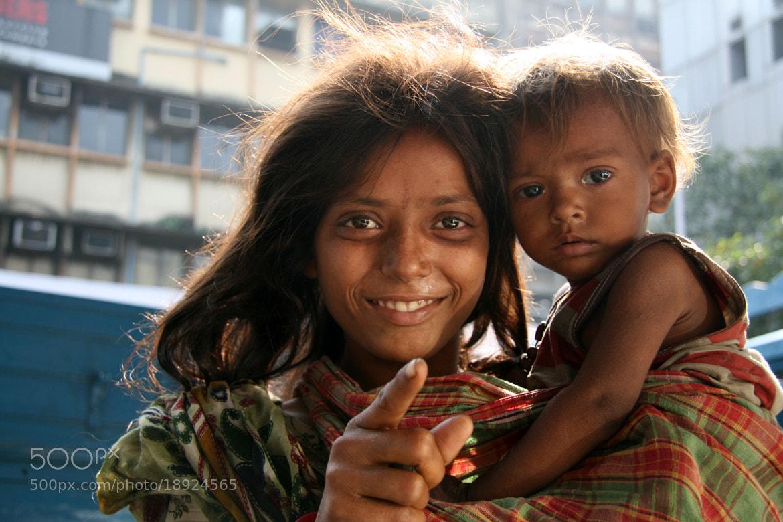 Photograph Children Begging - Kolkata, India by Sam D'Cruz on 500px