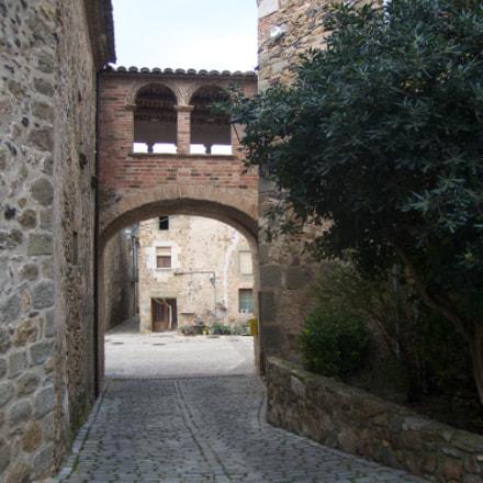 Púbol medieval centre