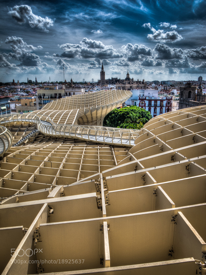 Modern art in Sevilla by Matthias Hildebrandt (bt0070)) on 500px.com