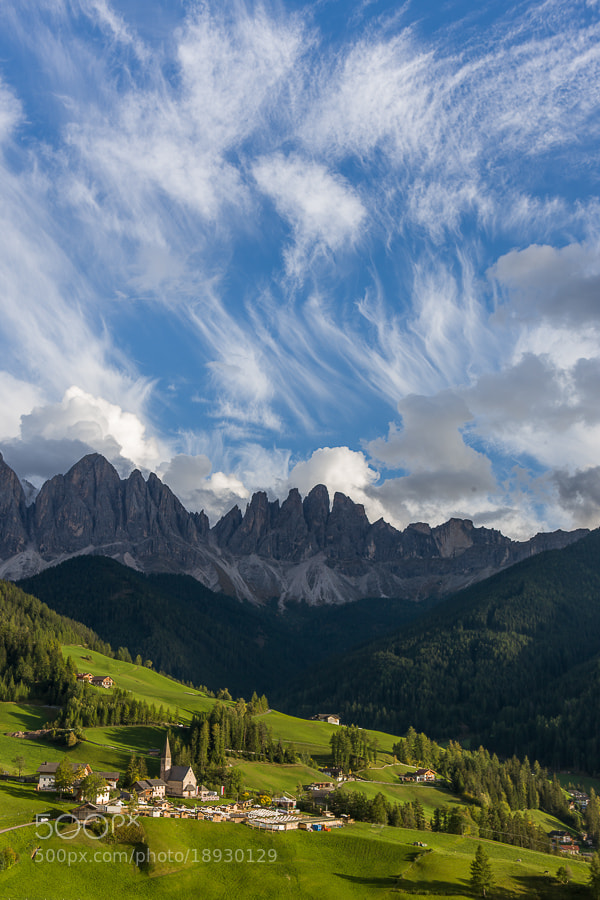 """<a href=""""http://www.hanskrusephotography.com/Workshops/Dolomites-October-7-11-2013/24503434_Pqw9qb#!i=2226590045&k=tVLZP7t&lb=1&s=A"""">See a larger version here</a>  This photo was taken during a photo tour that I led in the Dolomites October 2012."""