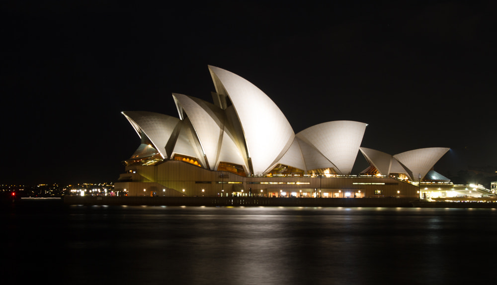 Photograph Opera House by Night by Hans Fischer on 500px