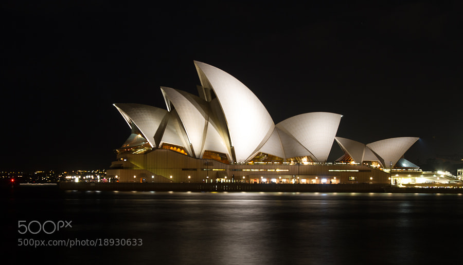 Opera House by Night by Hans Fischer (hansfischer)) on 500px.com