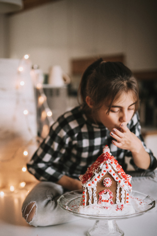 Gingerbread house by Gabriela Tulian on 500px.com