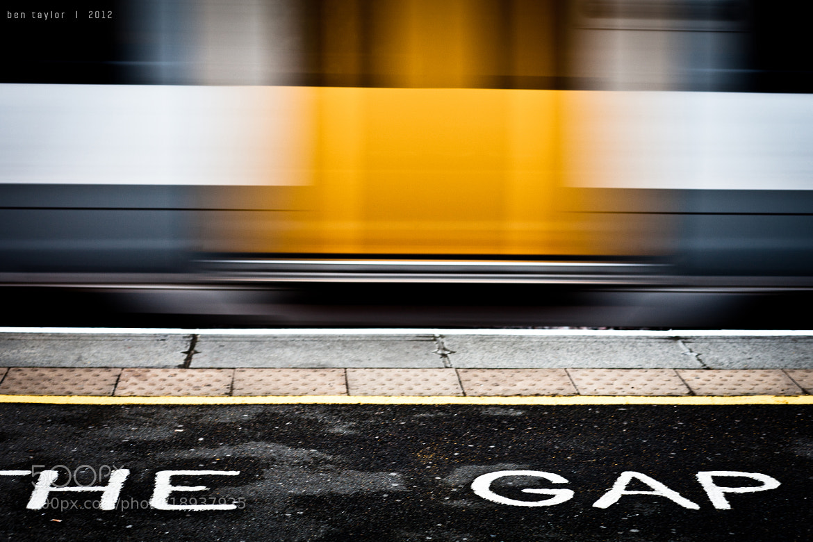 Photograph Mind the Gap by Ben Taylor on 500px