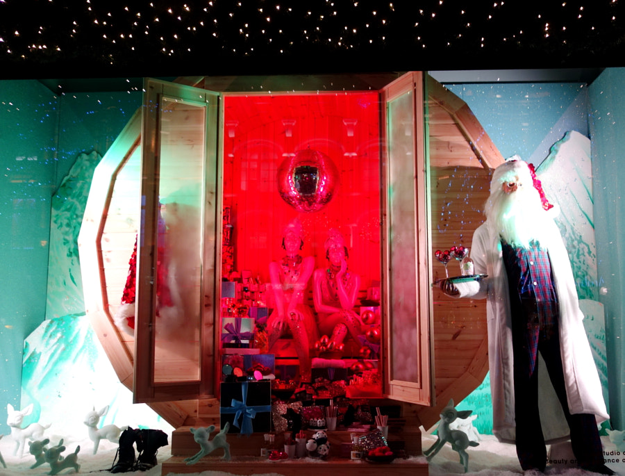 Selfridges Christmas Windows, London by Sandra on 500px.com
