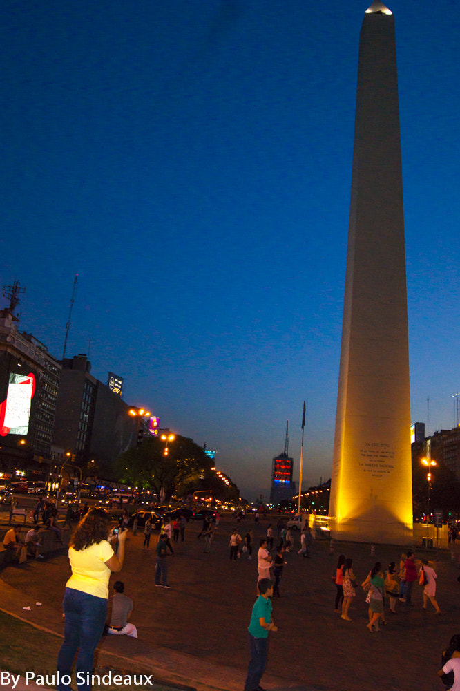 Photograph Obelisco - Buenos Aires by Paulo Sindeaux on 500px
