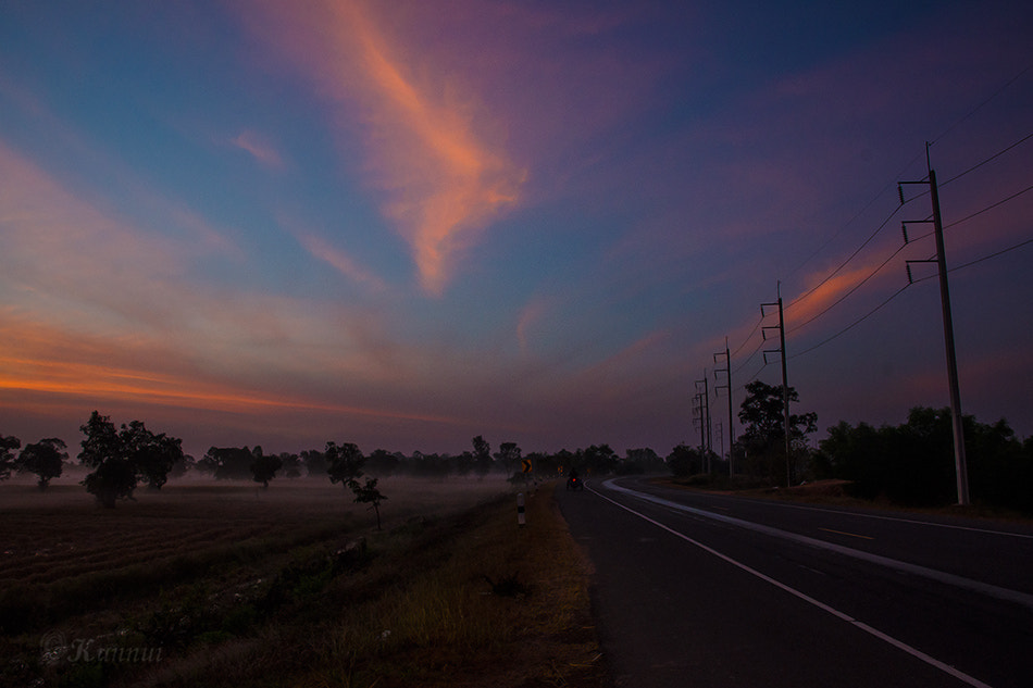 Photograph ROAD COUNTRY by nakin nui on 500px